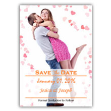 Press Printed Cards/Flat Card/Save The Date